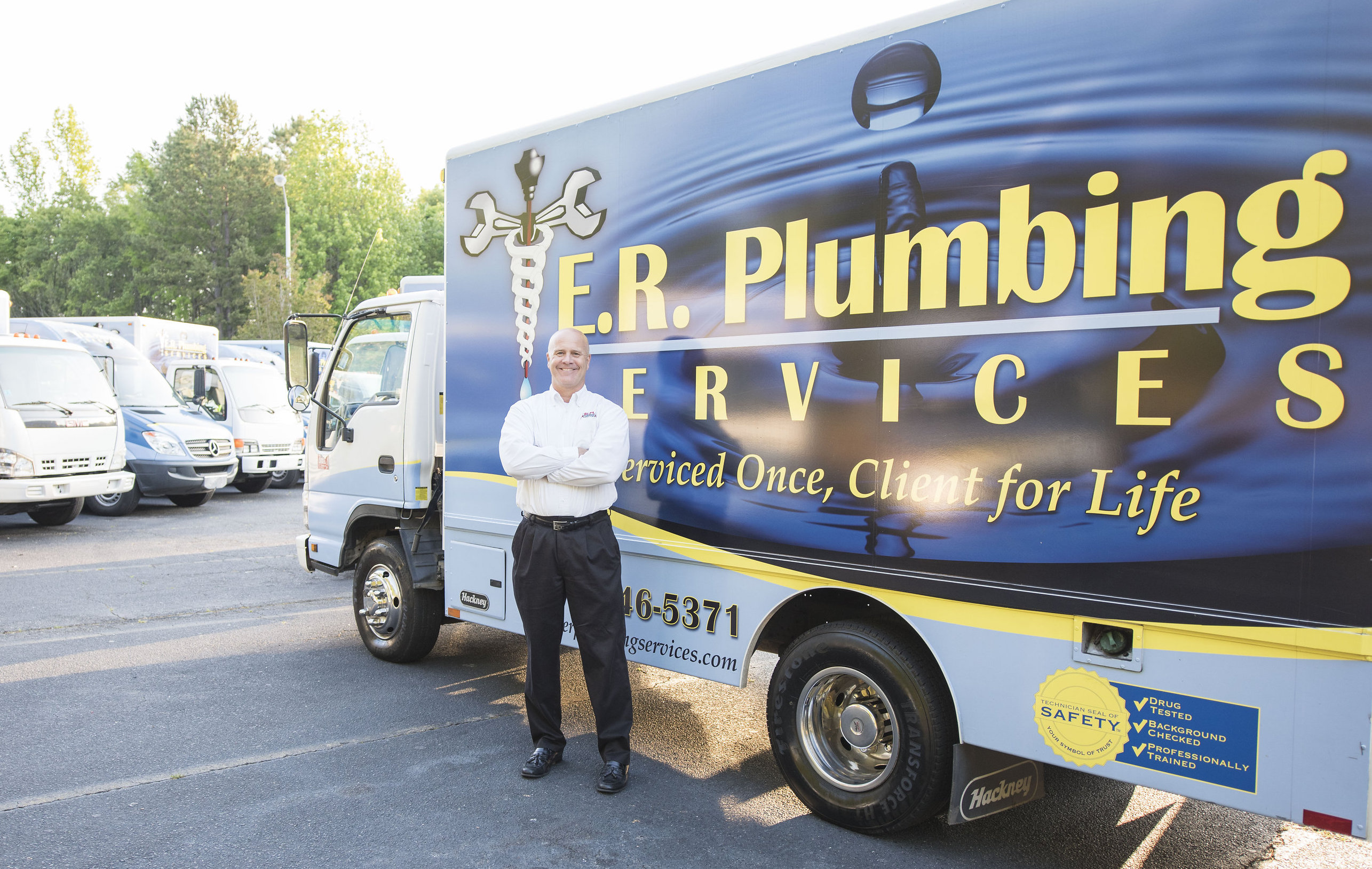 Dave Parker, Owner of ER Plumbing Services of Charlotte NC